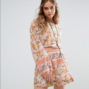 FREE PEOPLE washed ivo dress